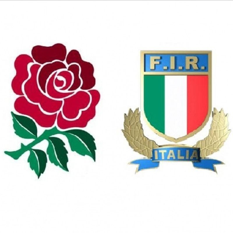 England vs Italy live at the club
