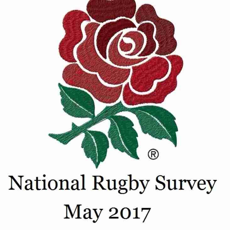 RFU National Rugby Survey