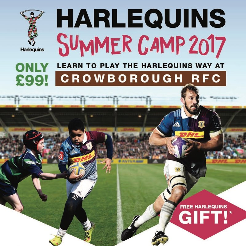 Harlequins Summer Camp returns to Crowborough RFC