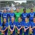 Under 13's beat AFC Wimbledon Ladies & Girls U13 Yellows 1 - 3