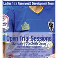 AFC Wimbledon Ladies Trials