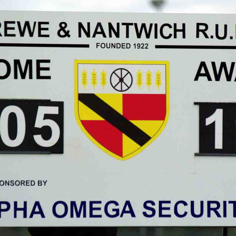 Crewe & Nantwich RUFC 4ths Vs Bowden