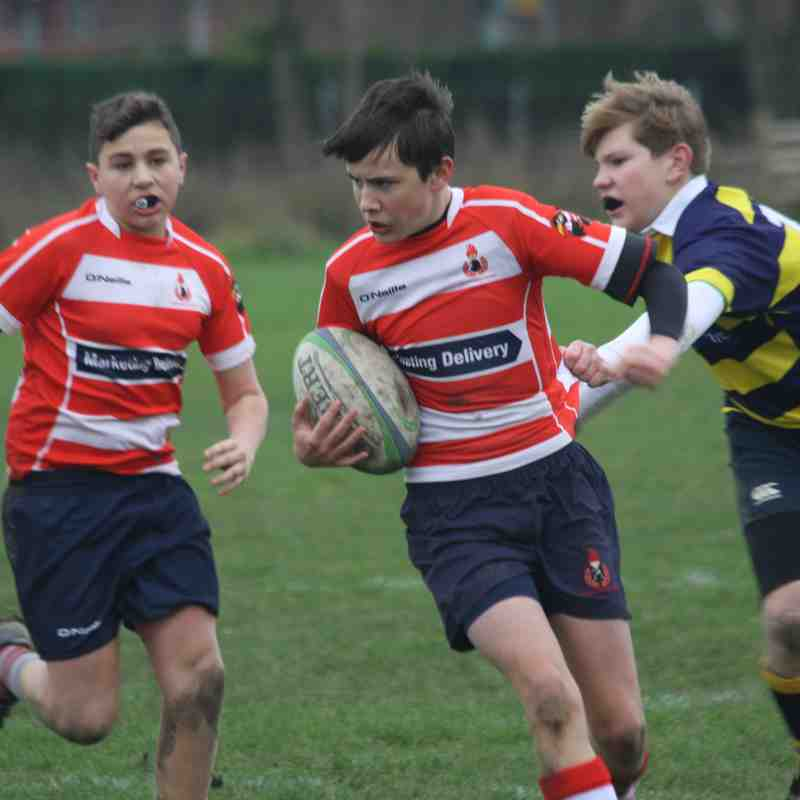 U15s vs Eastbourne