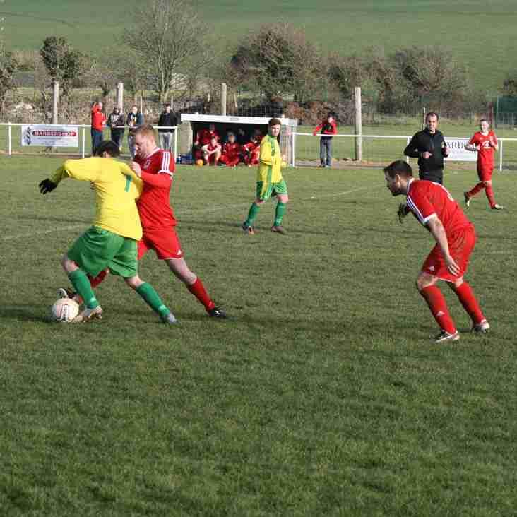 Kon-X Cymru Cyf Cwpan Dargie - Rownd Cyn-derfynol/ Kon-X Wales Ltd Dargie Cup Semi-Final
