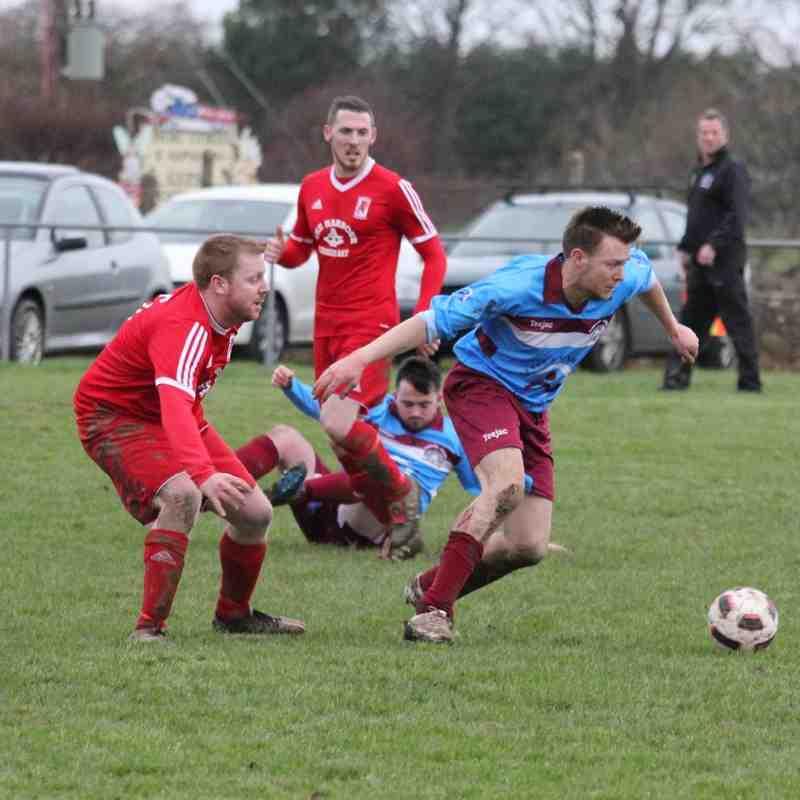 Bontnewydd FC v CPD Cemaes Bay FC (Bob Owen Memorial Shield 23/01/16)