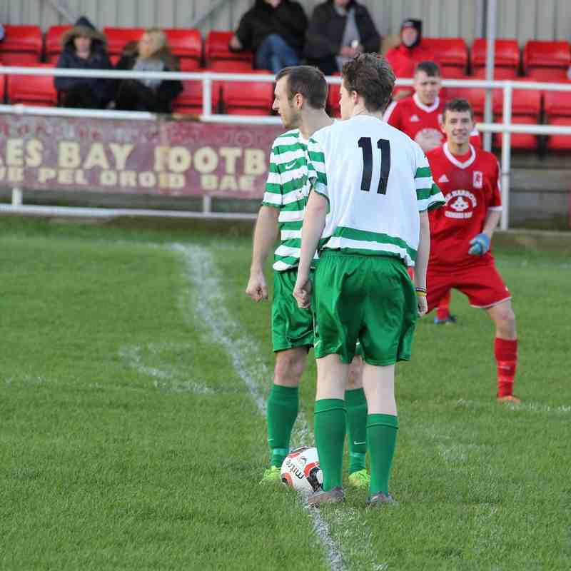 CPD Cemaes Bay FC v Harlech Town FC (30/01/16)