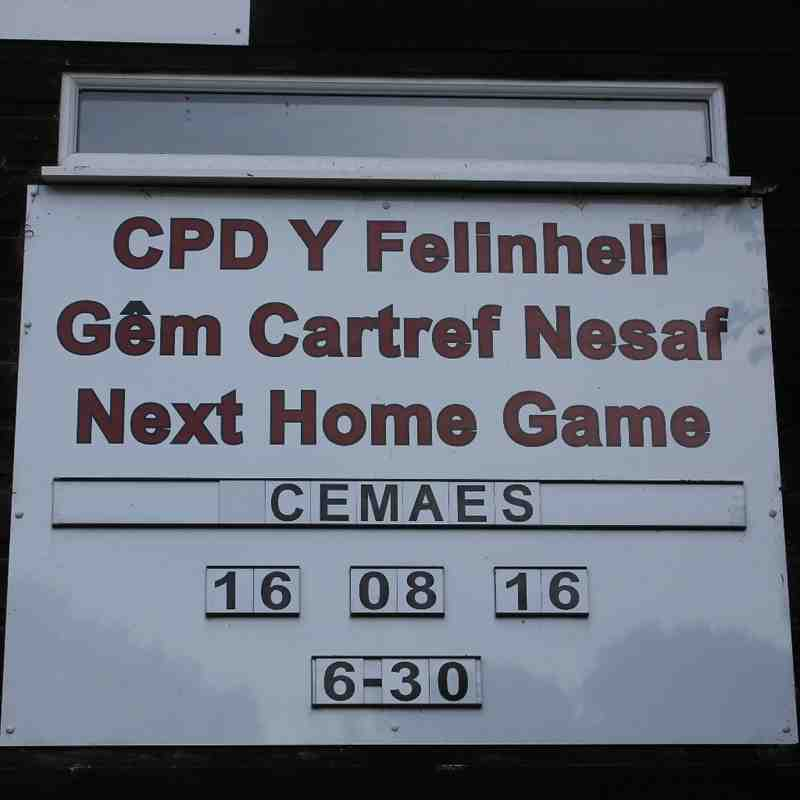CPD Felinheli FC v CPD Cemaes Bay FC (16/08/16)
