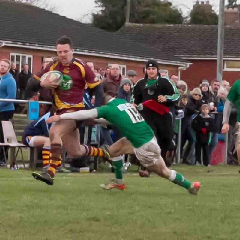 Firsts vs London Irish Wild Geese (15/12/12)
