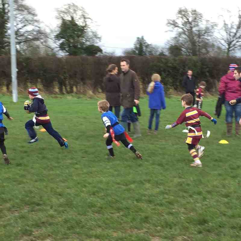 Malvern Under 7s at Luctonians (6/12/15)