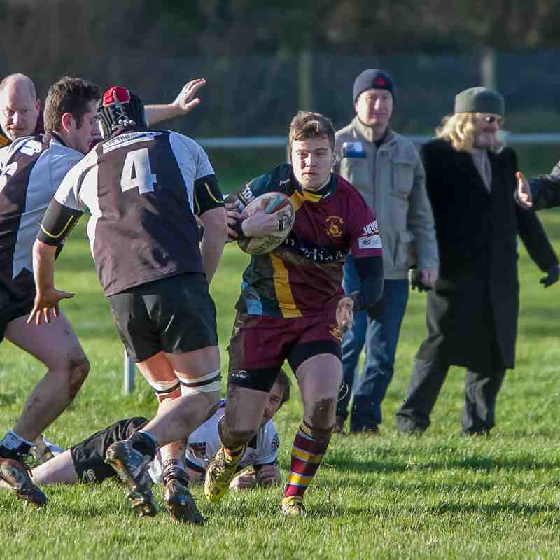 Seconds home to Luctonians 3rd (league)(30th Jan 2016)