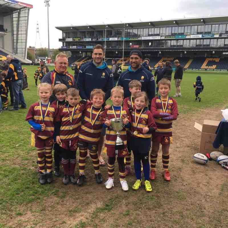 Under 8s at Worcester