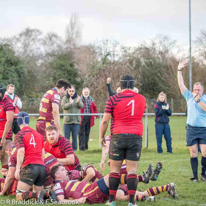 Firsts vs Newbold (league)(8 Dec 2018)