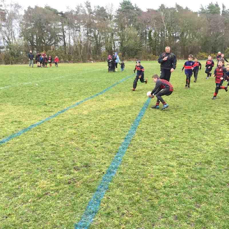 U9 Rugby Tour 2015