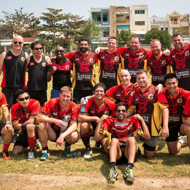 Hanoi Dragons v Tahiti Golden Oldies