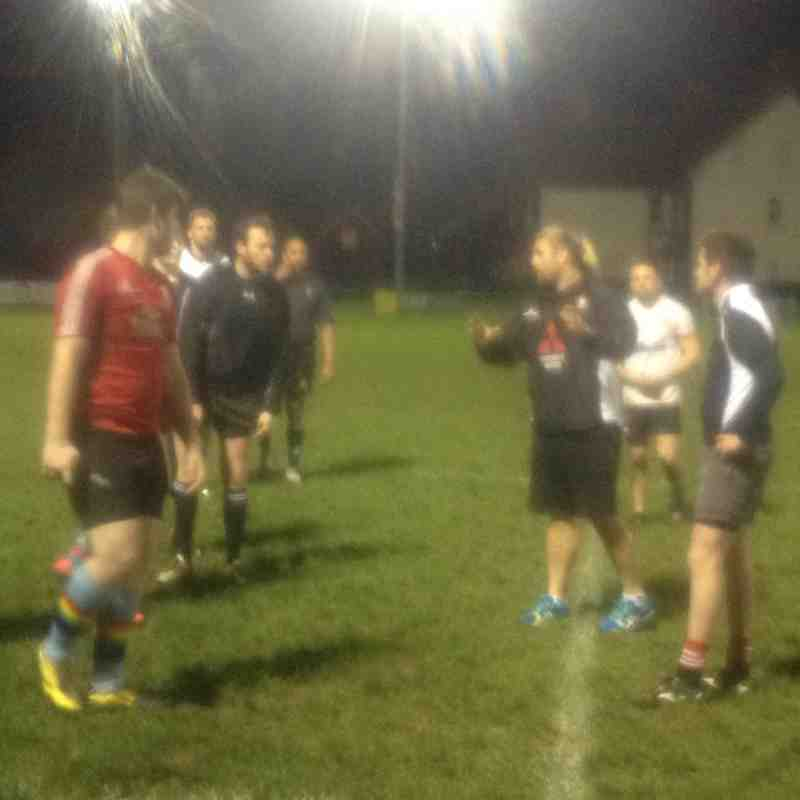 Gloucester rugby come to stroud