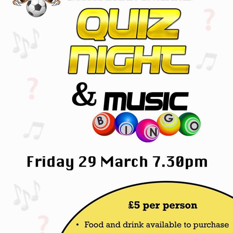 QUIZ NIGHT & MUSIC BINGO!
