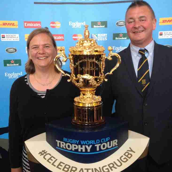 Webb Ellis Trophy Tour 2015