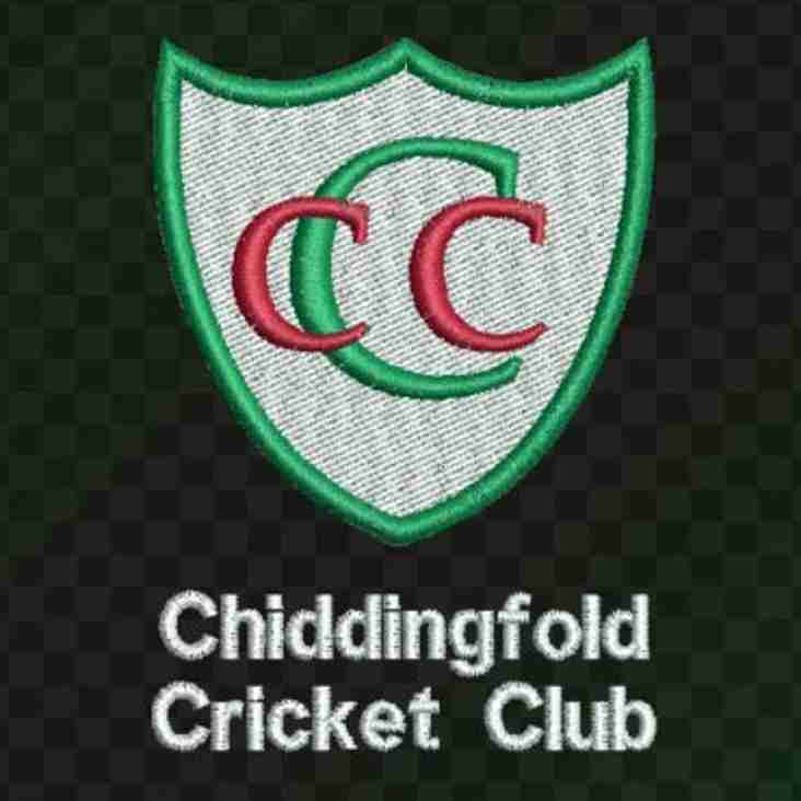 Chidd CC AGM - Friday 12 January at The Crown Inn (7.45pm)