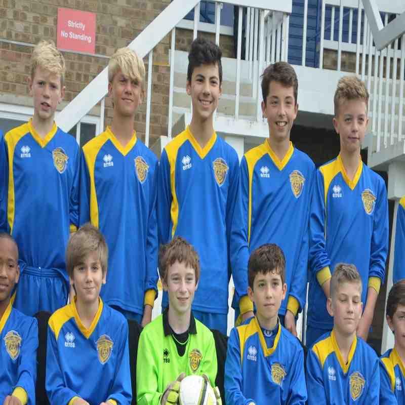 Spalding United U14 Photographs