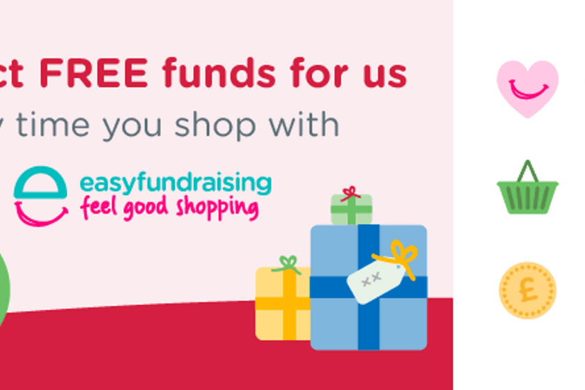 Don't forget easyfundraising this year!!