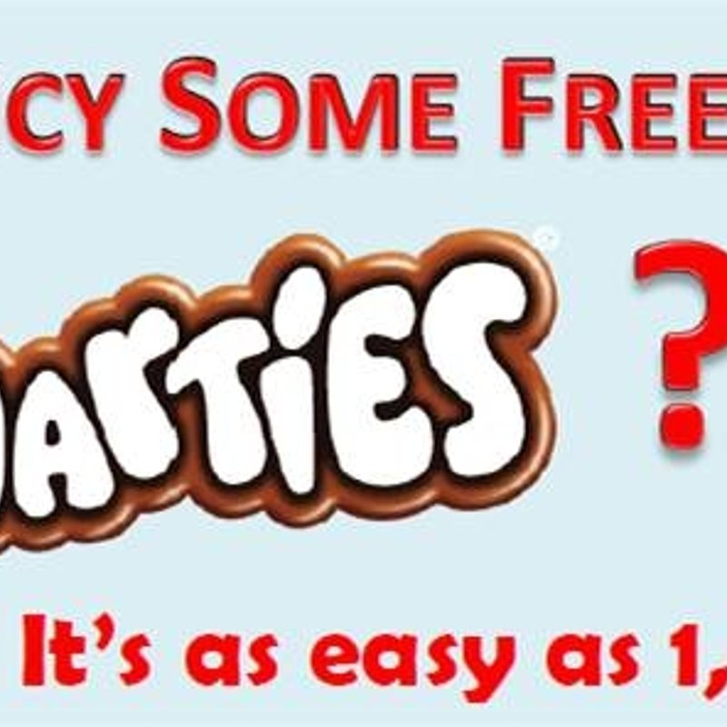 FREE Smarties for Colts.