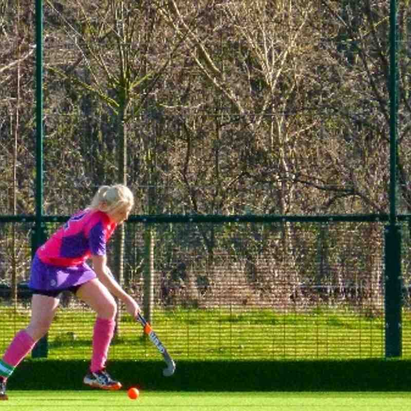 Ladies 3's - Match vs. Hampton in Arden 1's (01-03-2014)