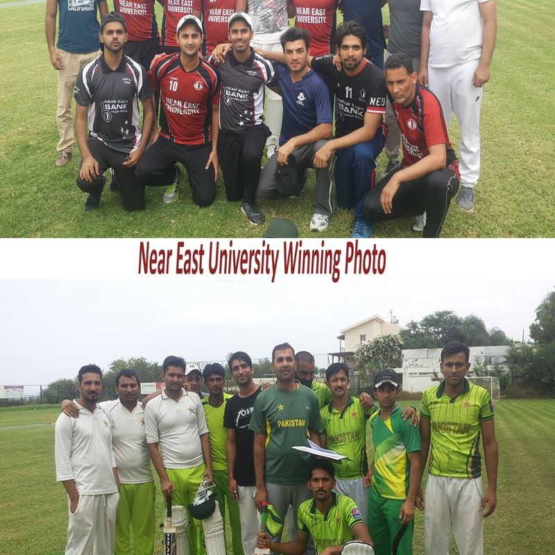 North Cyprus Cricket with Near East University back on track and A1Cypus celebrates their 1st Victory