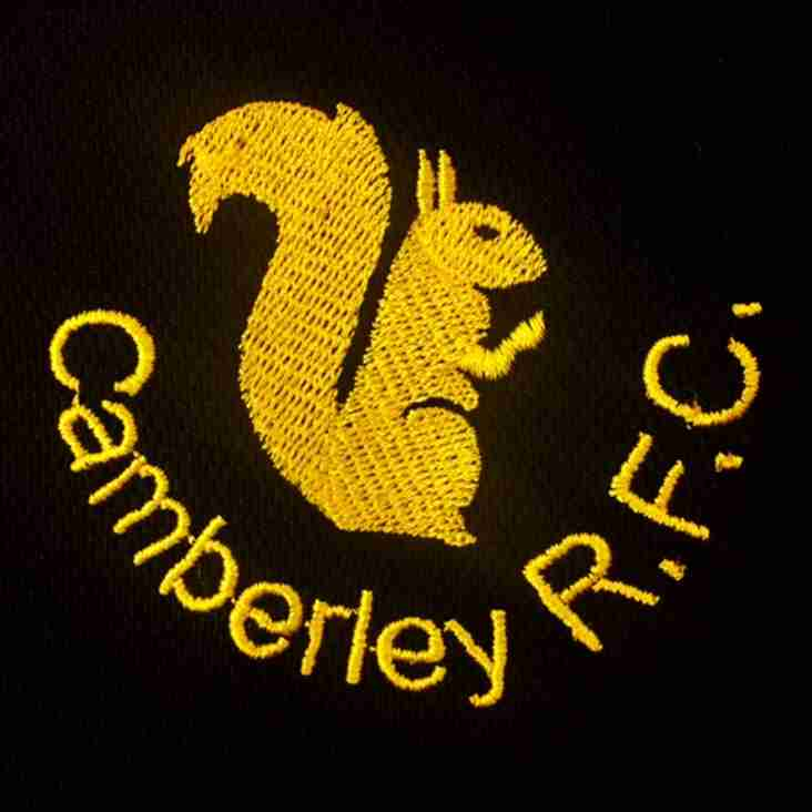 CRFC Summer Half Term Rugby Camp **Cancelled**