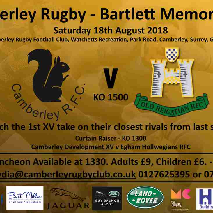 Camberley v Old Reigatian