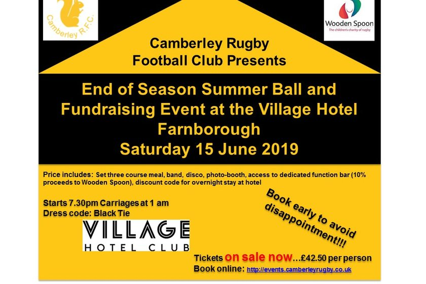 Buy Your Tickets for The Summer Ball