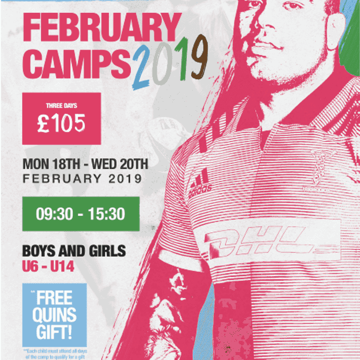 Camps at Camberley RFC in February