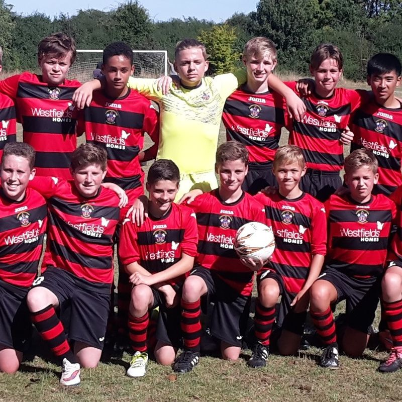 Under 14  beat BSCFC Athletic 3 - 2
