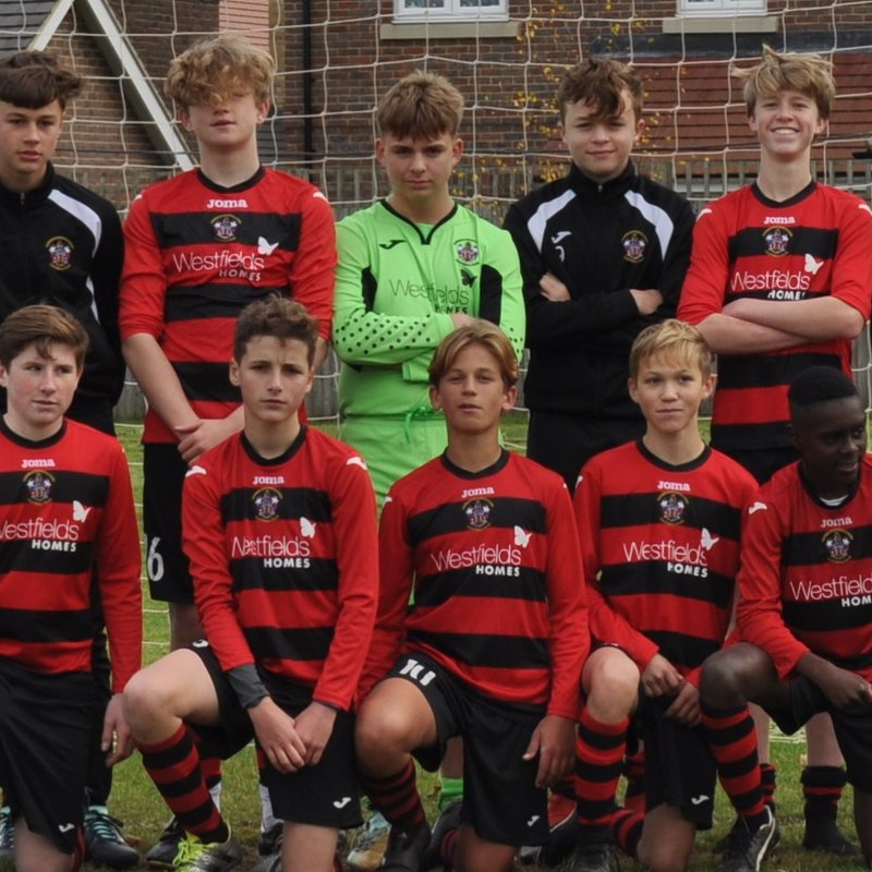 Under 16 beat BSCFC Athletic 3 - 0