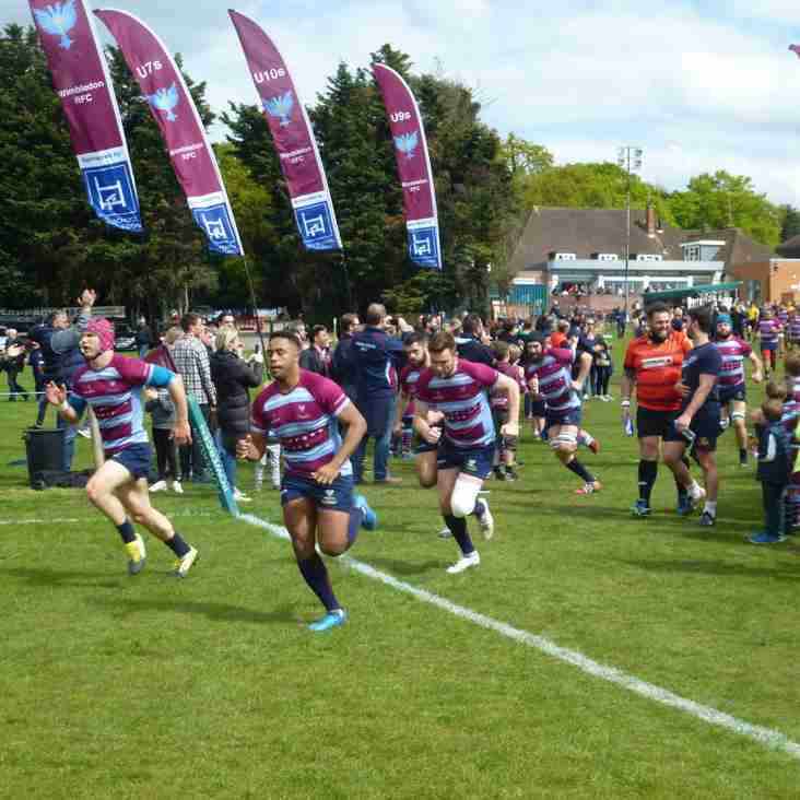 Promotion play-off to National 2:  Wimbledon 55 - 5 Dings Crusaders