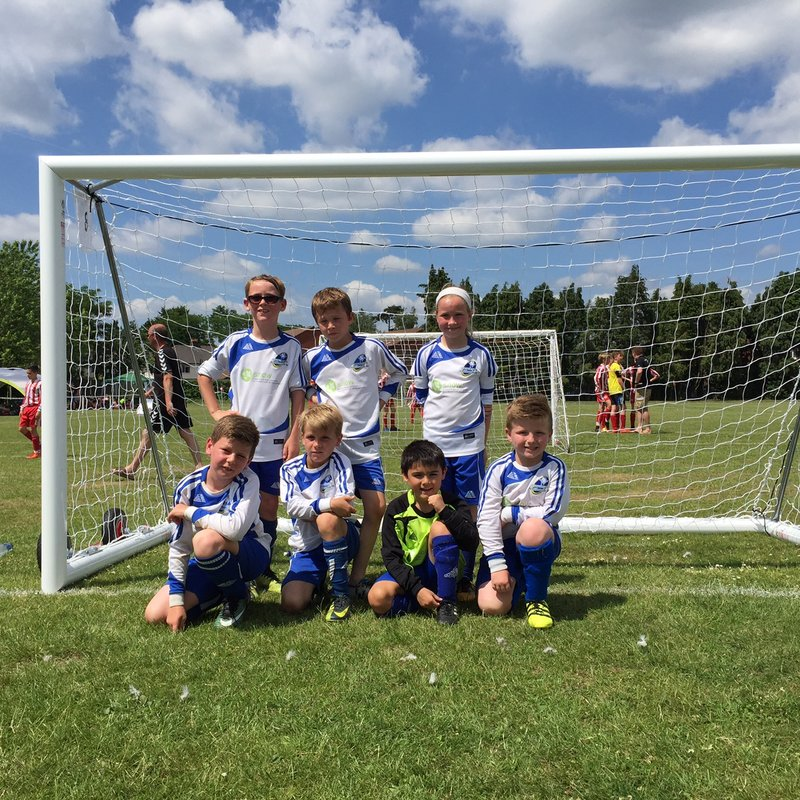 U9 Royals Runners-Up at Camberley!