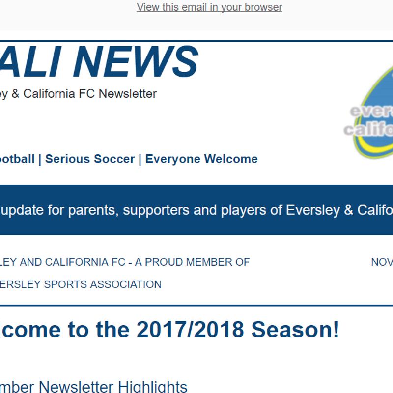 Cali News November 2017