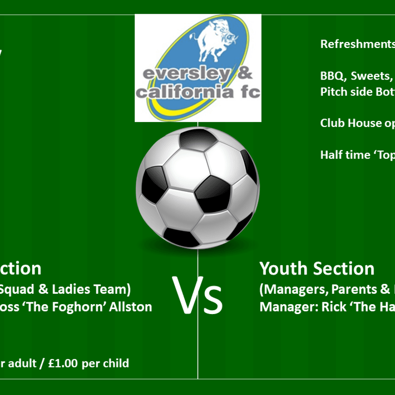 Seniors Vs Youth End of Season Football Madness