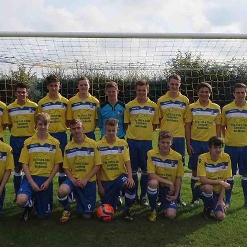 NUFC U19's 2014-15