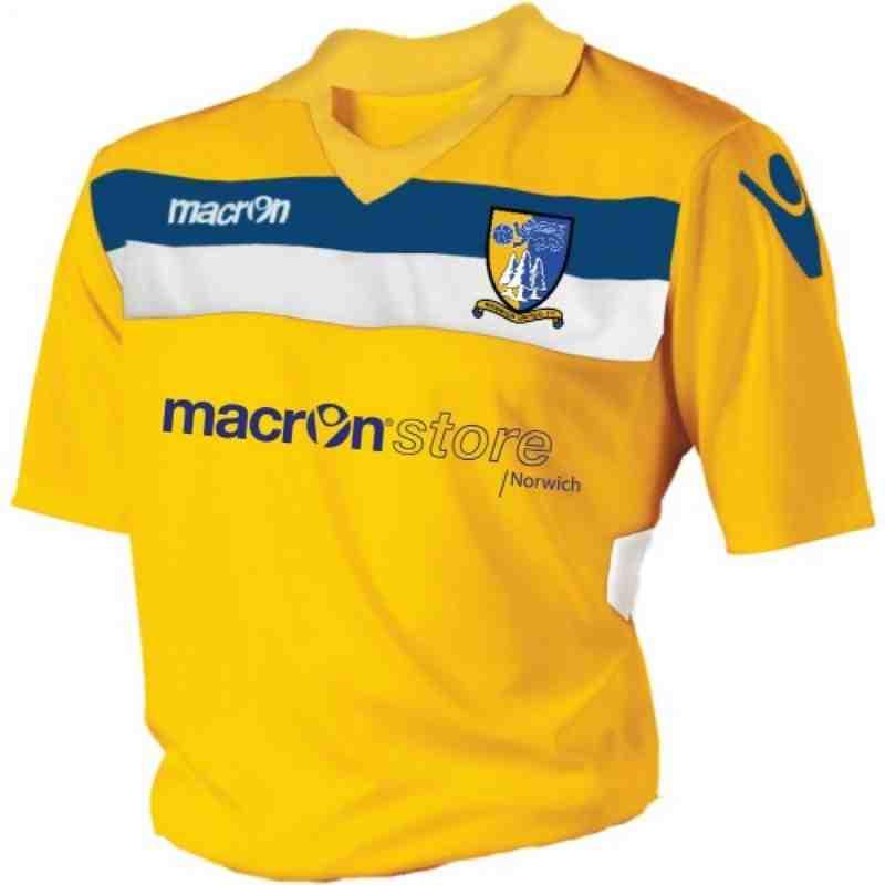 Norwich United FC Replica  (jnr)