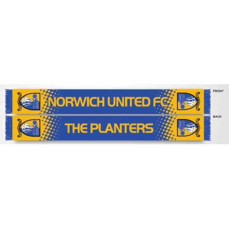 Norwich Utd FC Scarf