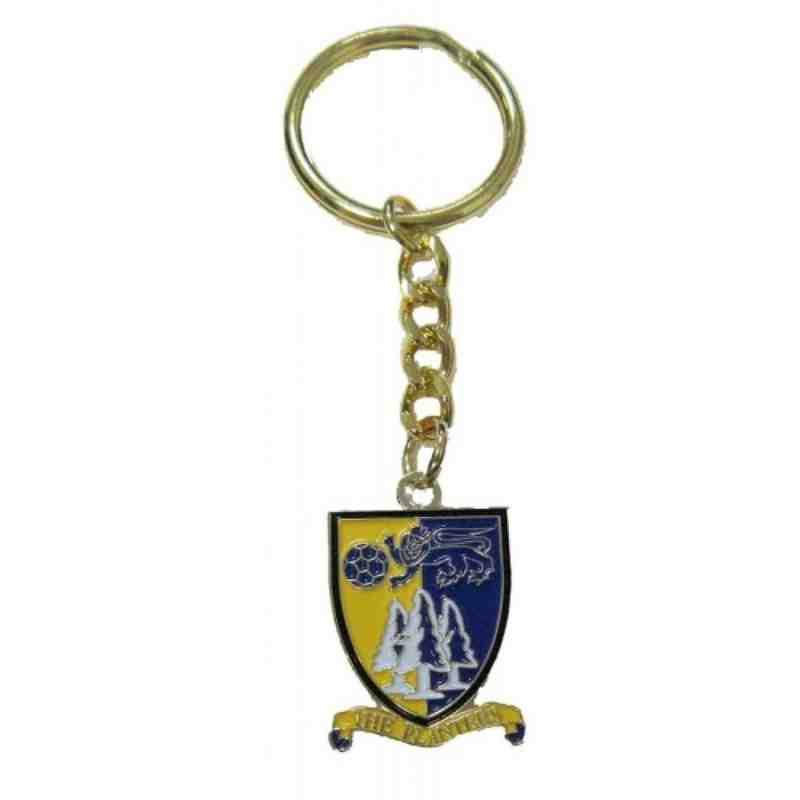 Norwich Utd FC Enamel Keyring