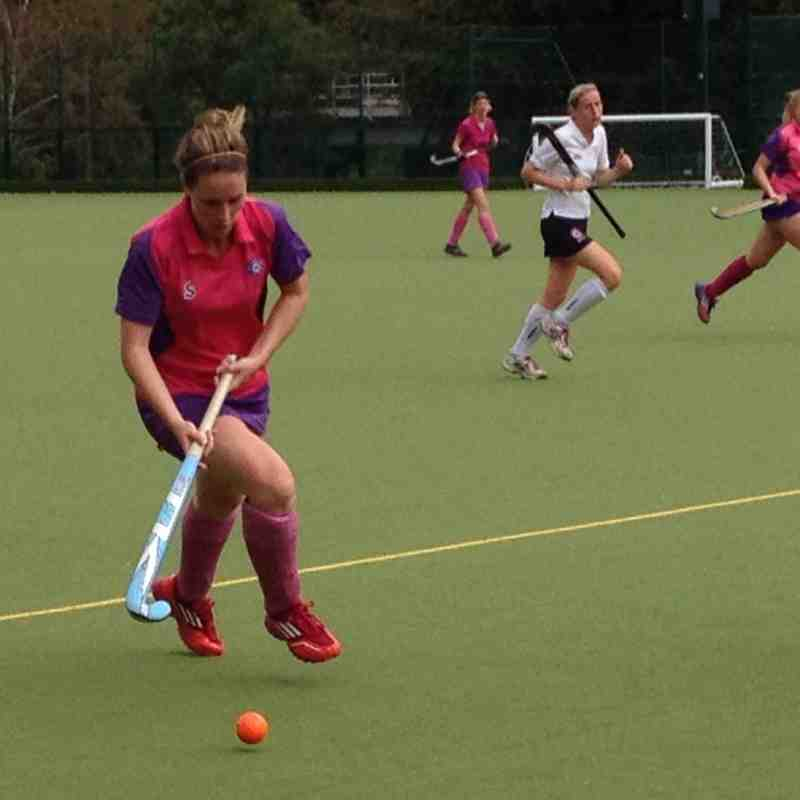 Sutton Coldfield Ladies 2s v Belper Ladies 1s September 2014
