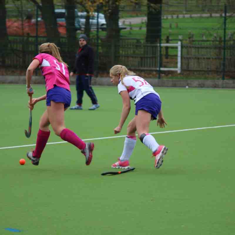 Sutton Ladies 4s vs 3s - 5th December 2015