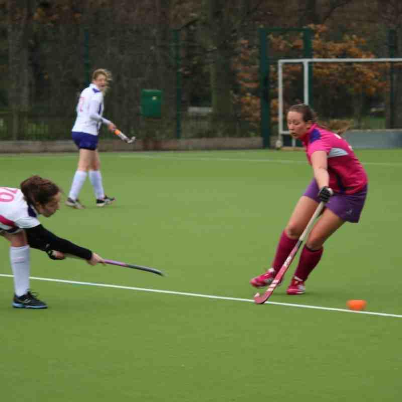 Sutton Ladies 4s vs 3s - 5th December 2015