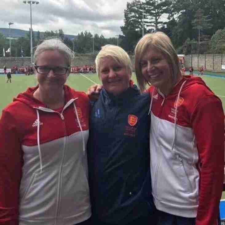 Sutton Coldfield members represent England