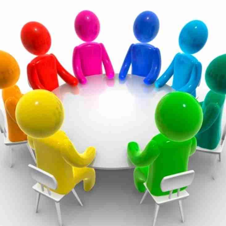 Ladies club committee meeting January 2018
