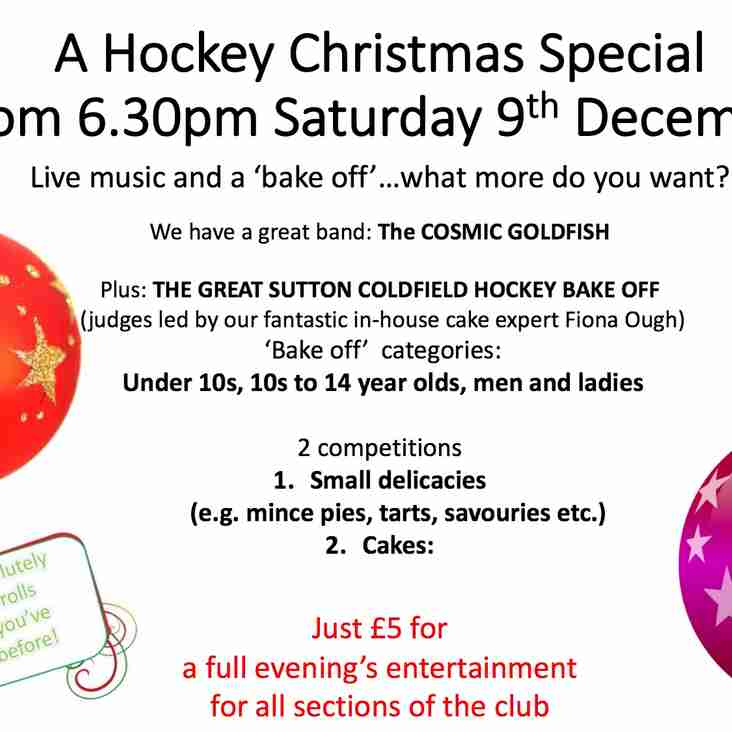 A Hockey Christmas Social