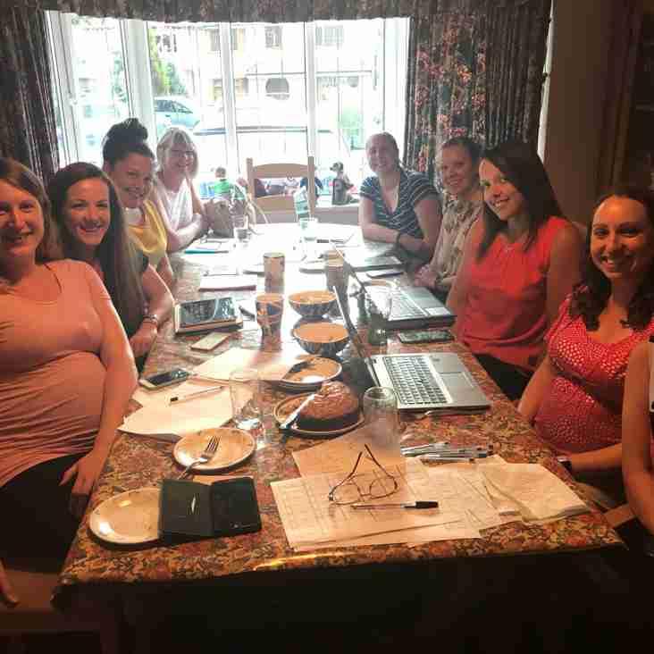 Ladies club committee meeting September 2018