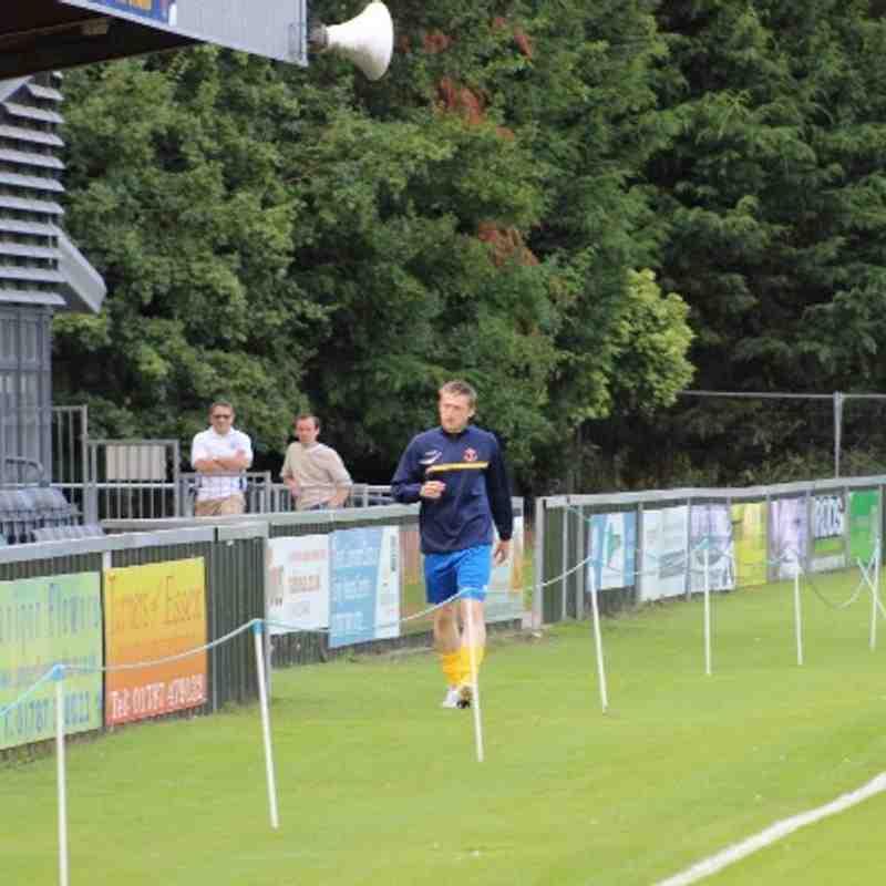 Friendly against Hadleigh United on 16/07/2014