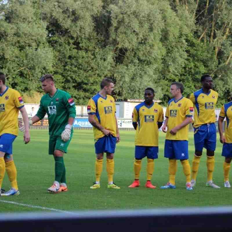Friendly against Colchester United on 17/07/2014